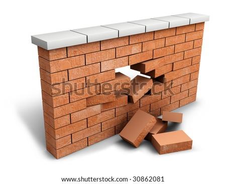 Firewall breach concept
