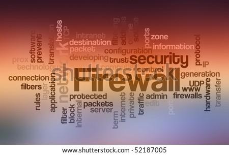 Firewall - Word Cloud