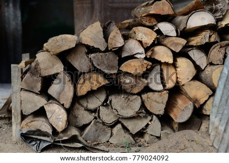 Firewood is used in the winter and is used for cooking , fire wood #779024092