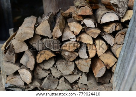 Firewood is used in the winter and is used for cooking , fire wood #779024410