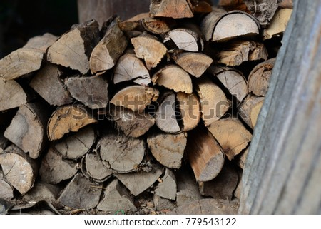 Firewood is used in the winter and is used for cooking , fire wood #779543122