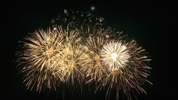 Firework always used for celebrating in many special events such as couple anniversary or company including festival. However, for art, it can be used as abstract painting to release cheerful emotion.
