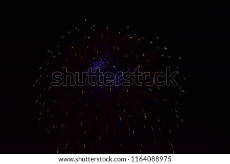 Firework at Budapest Stock fotó ©