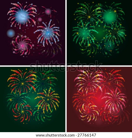 4th of july fireworks background. stock photo : firework