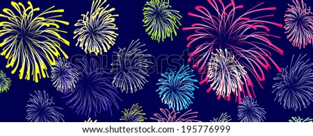 firework cartoon