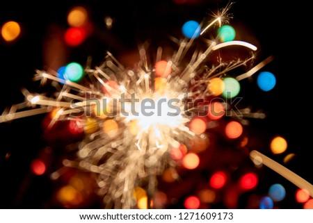Firework new year christmas #1271609173