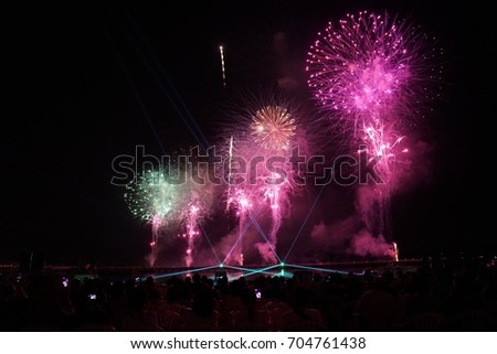 fireworks #704761438