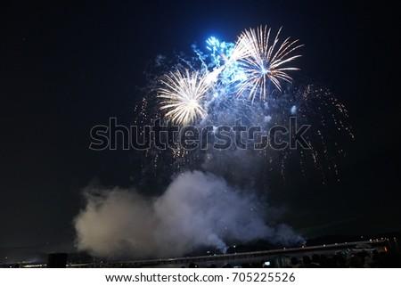 fireworks #705225526