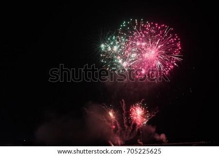 fireworks #705225625