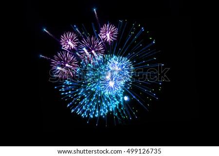 fireworks,Amazing fireworks #499126735