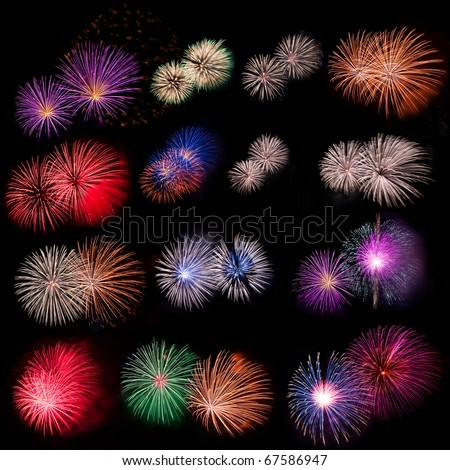 Fireworks collection
