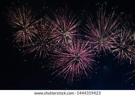 Fireworks from Makomanai Fireworks Festival 2019 #1444319423