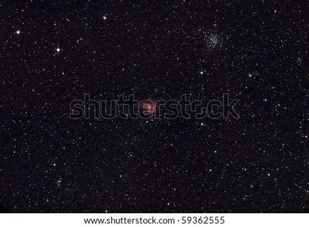 Fireworks Galaxy and the NGC 6946 Cluster