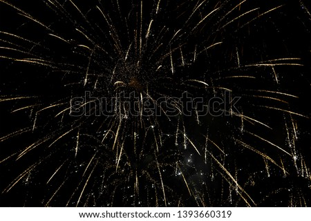 Fireworks in the sky. Abstract background