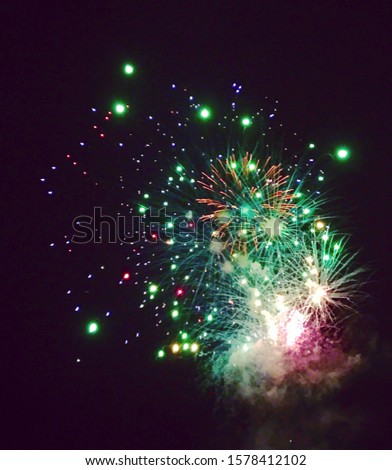Fireworks New Year's Eve celebrations