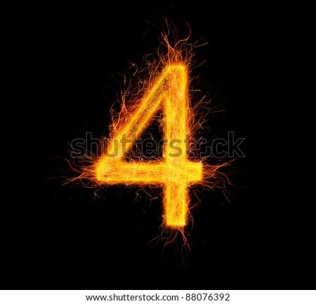 """Fireworks number """"4"""""""