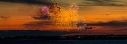 Fireworks over Porthcawl