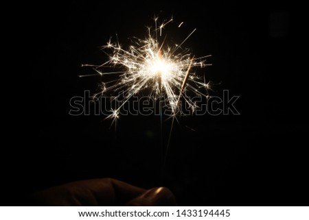 fireworks that are brightly lit.