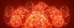 Fireworks - wide XXL large size