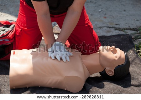 First aid. Cardiopulmonary resuscitation (CPR).
