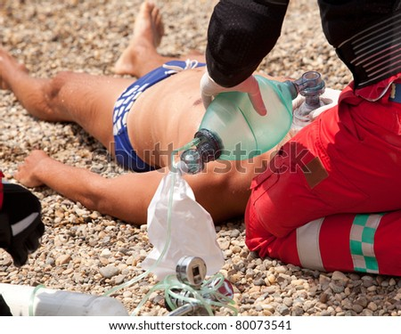 First aid for drowning