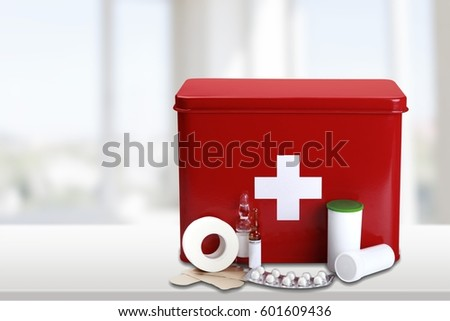 First aid kit. #601609436