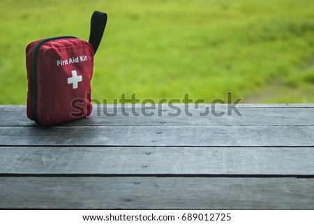 First aid kit #689012725