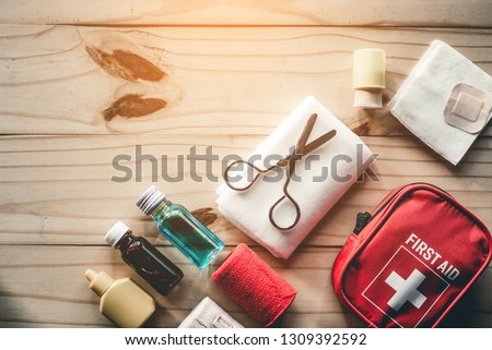 first aid kit bag #1309392592