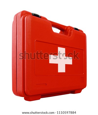 First Aid Kit, isolated on white background #1110597884