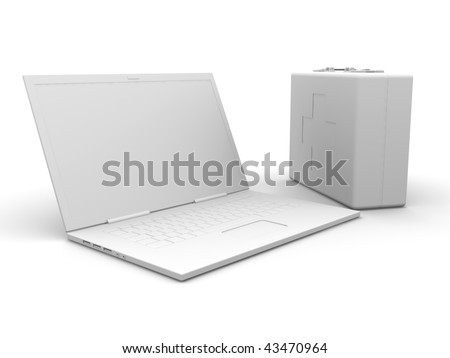 First aid Laptop
