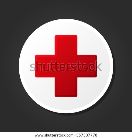 First Aid Medical Sign Icon.