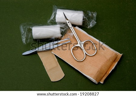 first aid tools