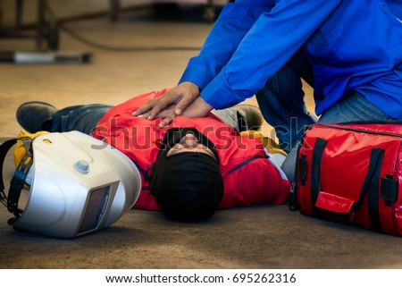 first aid training in the...