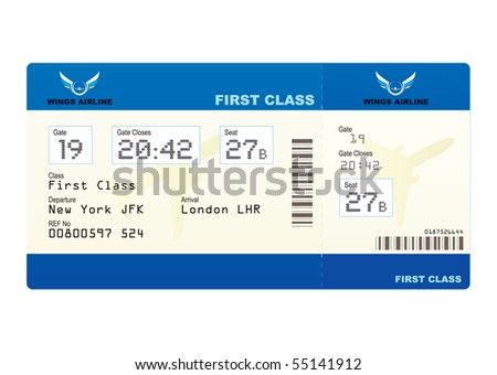 Airplane_Boarding_Pass_Template http://www.shutterstock.com/pic-55141912/stock-photo-first-class-boarding-pass-or-plane-ticket-with-destination.html