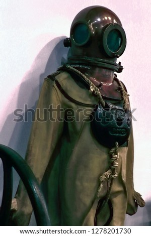 first diving suit #1278201730