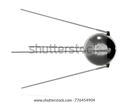 First satellite 3d rendering