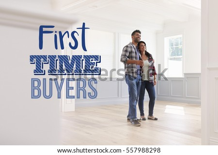 First Time Buyers Couple In Their New Home