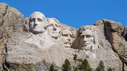 First time visiting Mount Rushmore