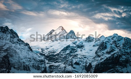 First Viewport at Jungfraujoch Switzerland
