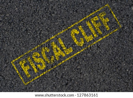 Fiscal cliff background