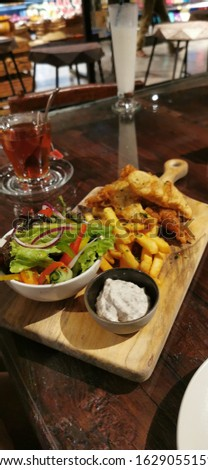 Fish and Chip ala Gourmet Jimbaran