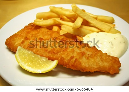 Fish And Chips With Tartar Sauce Recipes — Dishmaps