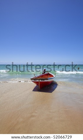 Fish Hoek beach in Cape Town, South Africa
