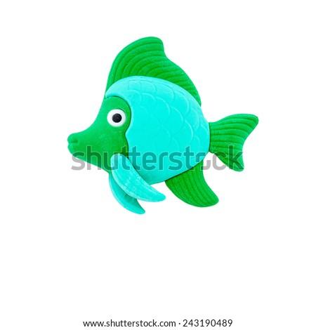 fish modelling clay ez canvas