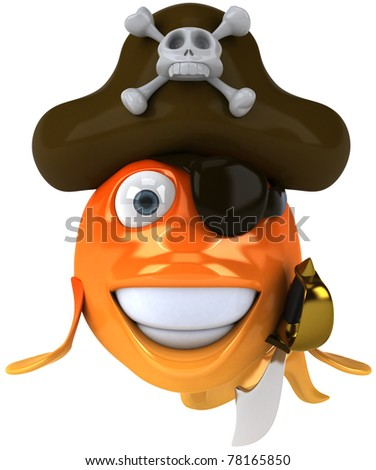 Fish pirate