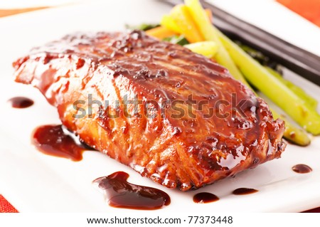 Fish Teriyaki