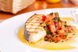 Fish with tomato
