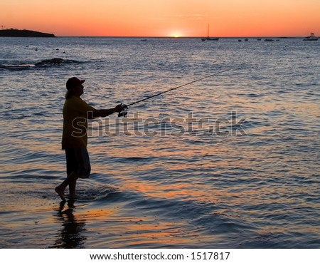 Fisherman in Costa Rica