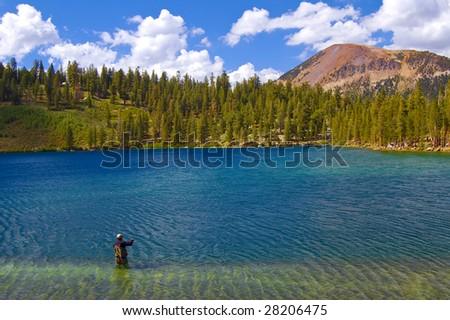 Fisherman, Lake George