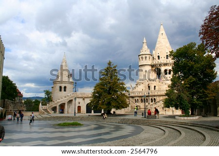 fisherman's bastion, Hungary, Budapest; Autumn